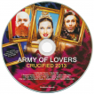 ARMY OF LOVERS.CZ • Promo CD Crucified 2013 slim line U.S.A.